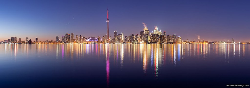 Toronto skyline panorama, Center Island, Toronto Islands