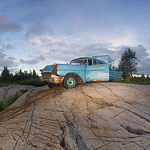 '57 Chevy panorama, Bouchier Islands, Georgian Bay
