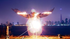 Bruce Smith's Phoenix Rising, Algonquin Island, Toronto Islands