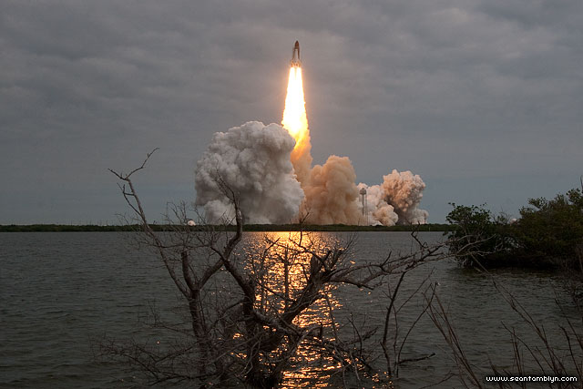 Final launch of space shuttle Endeavour, STS-134, Kennedy Space Centre, Florida