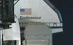 Endeavour RSS Rollback, STS-134, Kennedy Space Centre, Florida