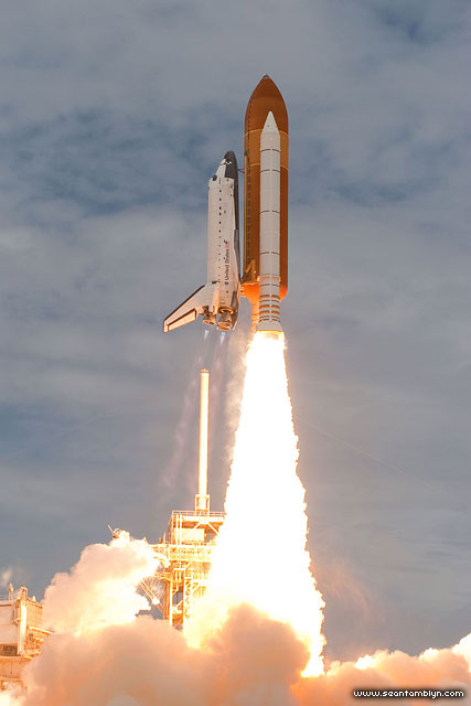 STS-135 Atlantis launch, Kennedy Space Centre, Florida