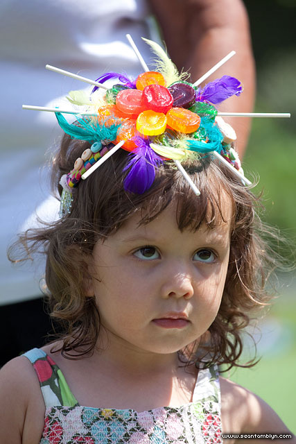 Kid's Fascinators, Gala Weekend 2011, Ward's Island, Toronto Islands