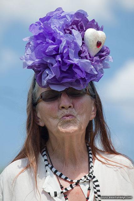 Leida's Fascinator, Gala Weekend 2011, Ward's Island, Toronto Islands