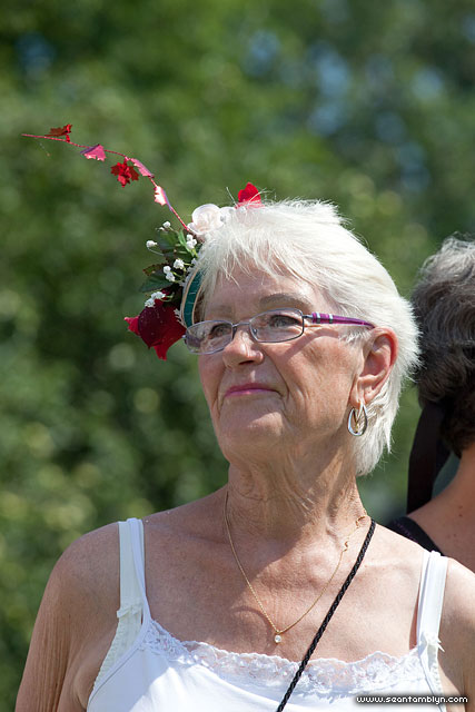Barb's Fascinator, Gala Weekend 2011, Ward's Island, Toronto Islands