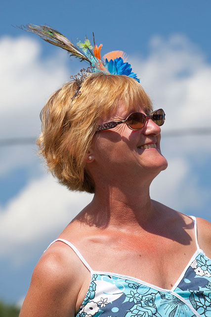 Julia's Fascinator, Gala Weekend 2011, Ward's Island, Toronto Islands