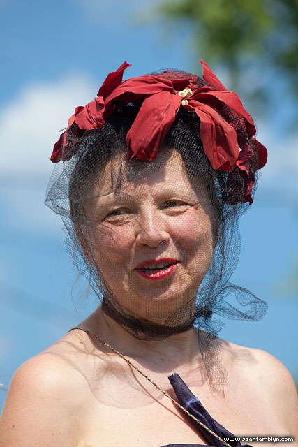 Sandy's Fascinator, Gala Weekend 2011, Ward's Island, Toronto Islands