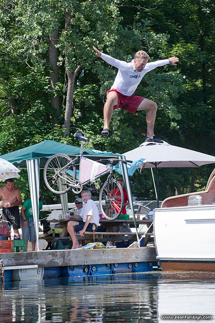 Michael Dock Jumping, Gala Weekend 2011, Algonquin Island, Toronto Islands