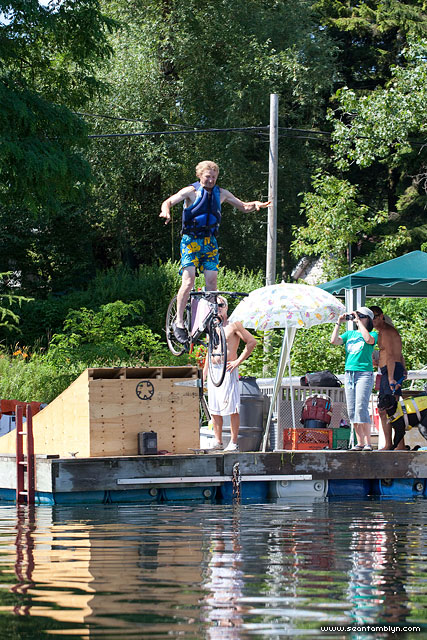 Risto Dock Jumping, Gala Weekend 2011, Algonquin Island, Toronto Islands