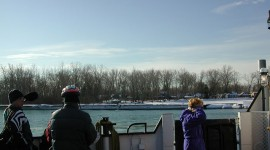 View of the Cove from ferry Ongiara, Eastern Gap, Toronto Islands