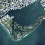 Toronto Islands Satellite View