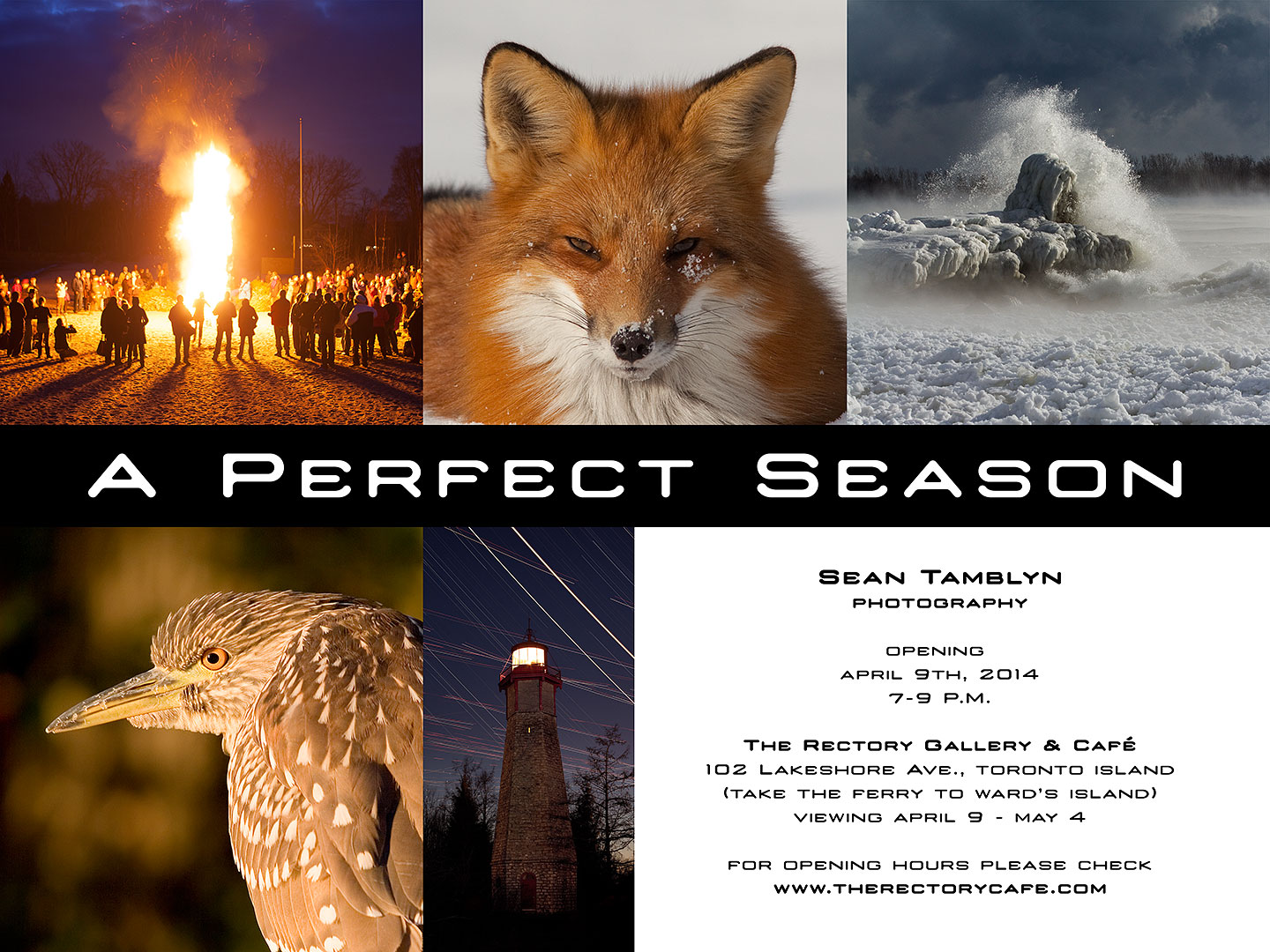 A Perfect Season, Sean Tamblyn Photography, Rectory Gallery & Cafe opening April 9 2014