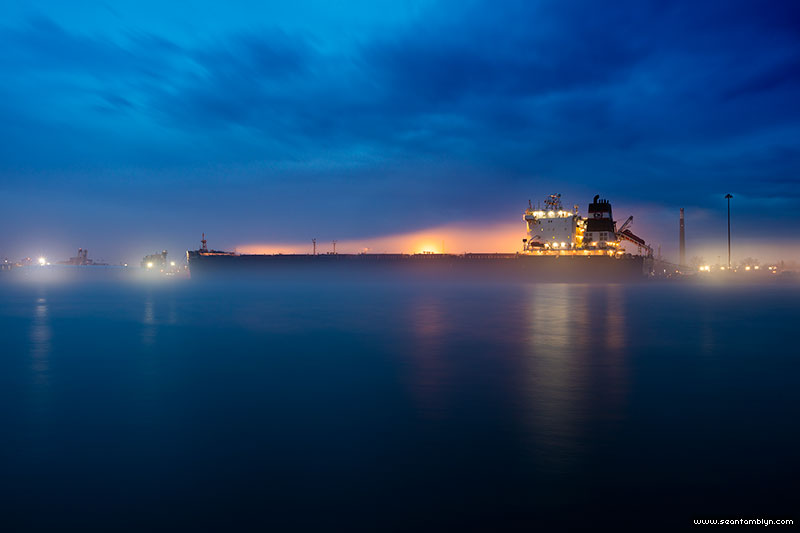 Bulk carrier Algoma Spirit, Eastern Gap, Toronto Islands