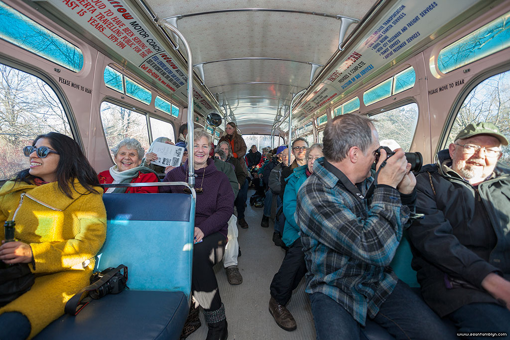 Standing room only on the Jimmy Jones Express, Ward's Island, Toronto Islands