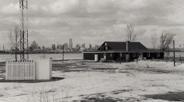 1960s era AIA Clubhouse, Algonquin Island, Toronto Islands
