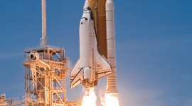 Liftoff of space shuttle Atlantis, STS-132, Cape Canaveral, Florida