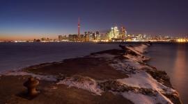 Eastern Gap breakwall, Ward's Island, Toronto Islands