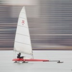 Ice Sailing, Inner Harbour, Toronto Islands