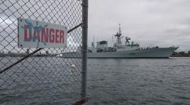 HMCS Montreal, Eastern Gap, Toronto Islands